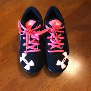 Under Armour Girls Baseball/Softball Cleats